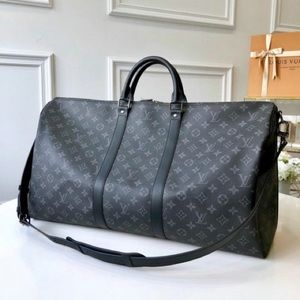 Louis Vuitton Keepall 55 Eclipse Monogram